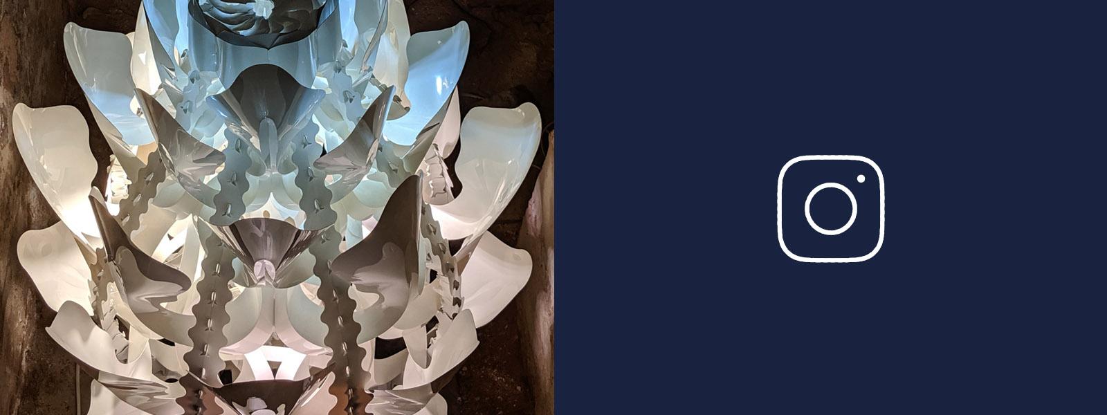 barry magazinovic lighting chandelier instagram design art creative Australian