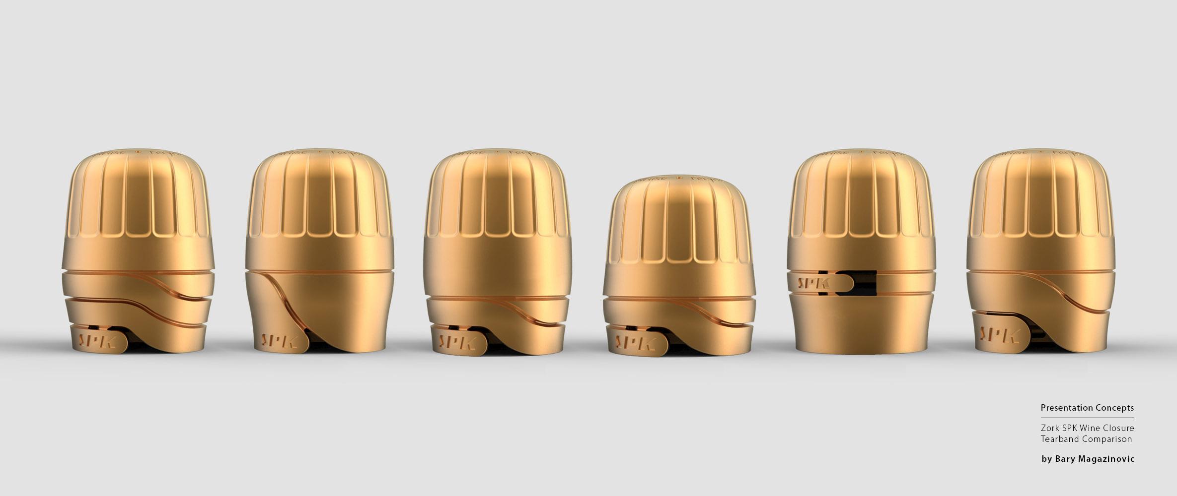 Australian Product Design Industrial Design graphic design SPK sparkling Champagne concept gold presentation illustrations by Barry Magazinovic