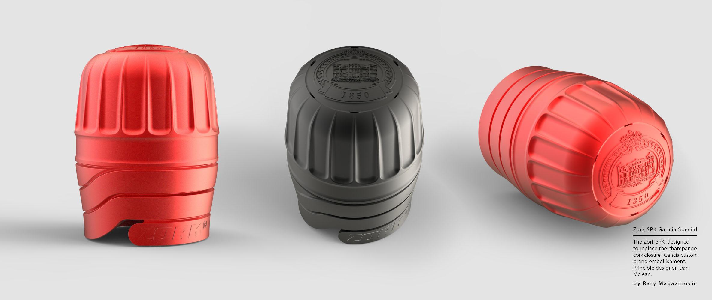 Australian Product Design Industrial Design SPK sparkling Champagne logo Gancia by Barry Magazinovic
