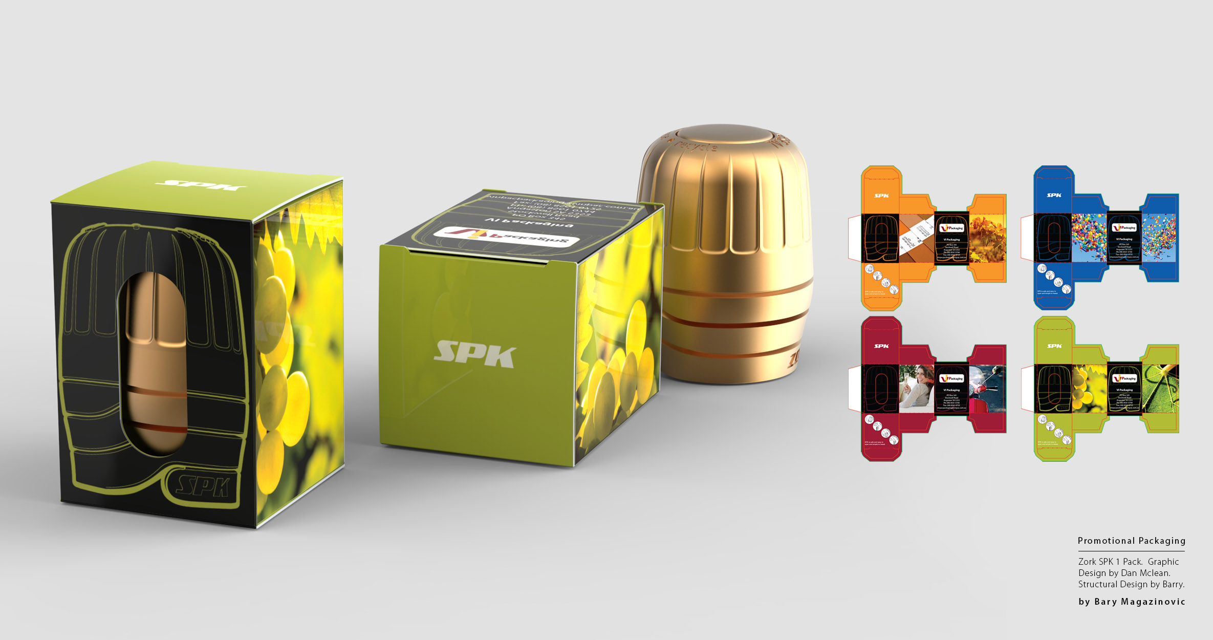 Australian Product Design Industrial Design graphic design marketing packaging single by Barry Magazinovic